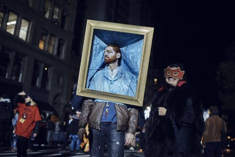 El desfile de Halloween en el Greenwich Village de Nueva York (AP Photo/Andres Kudacki)