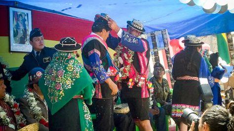 El presidente Evo Morales en acto de entrega de obras en Tomave, Potosí. Foto:Ministerio de Comunicación