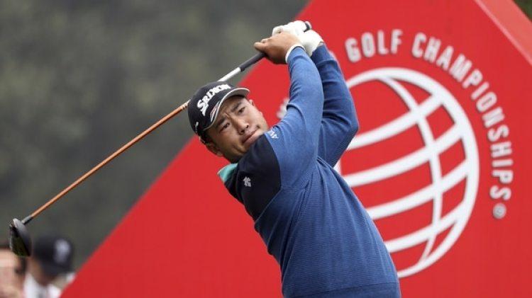 Hideki Matsuyama, cuarto mejor del mundo en el ranking mundial, almorzará y jugará al golf mañana junto a Donald Trump y Shinzo Abe. (AP Photo/Ng Han Guan)