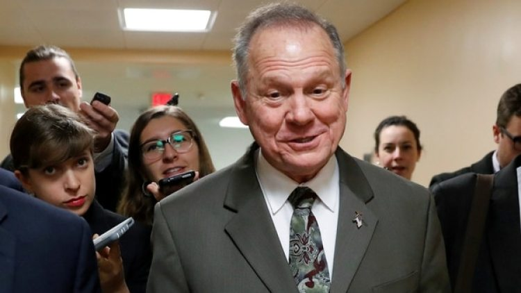 El republicano Roy Moore (Reuters)