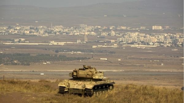 Israel intercepta un dron sirio sobre los Altos del Golán
