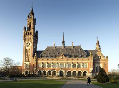 El Palacio de la Paz, sede la Corte Internacional de Justicia (CIJ), en La Haya, Holanda. Foto: Internet.