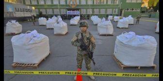 Policía incautó 119 kilos de cocaína y marihuana en La Paz