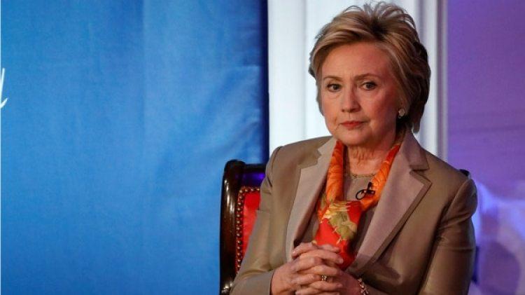 La ex candidata demócrata y ex Secretario de Estado Hillary Clinton