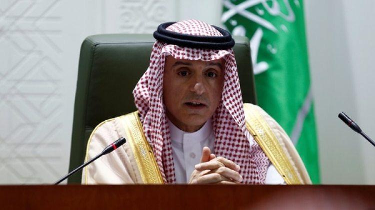 El ministro saudita de Relaciones Exteriores Adel al Jubeir