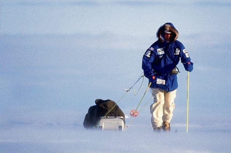 Luego de 50 días en el Polo Sur, a Erling Kagge le costó volver a hablar.