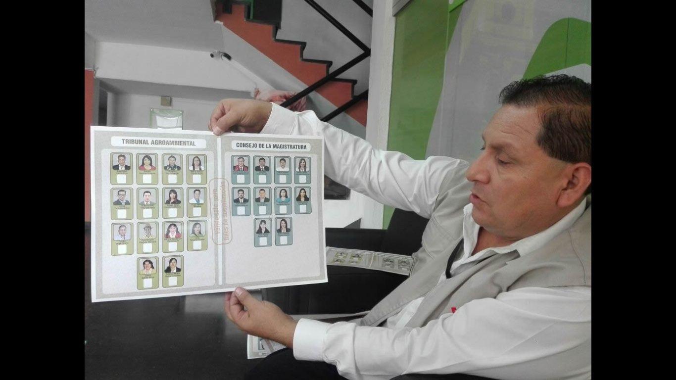 Carlos Mesa plantea cambiar la forma de elegir a autoridades judiciales