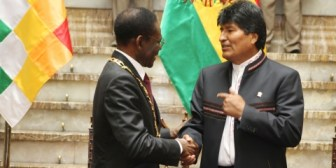 Morales subraya historia similar en la liberación de los pueblos de Bolivia y Guinea Ecuatorial