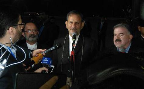 Vicepresidente de Irán, Eshaq Yahanguirí, arriba a la ciudad de Santa Cruz de la Sierra para participar de la Cumbre del Gas.