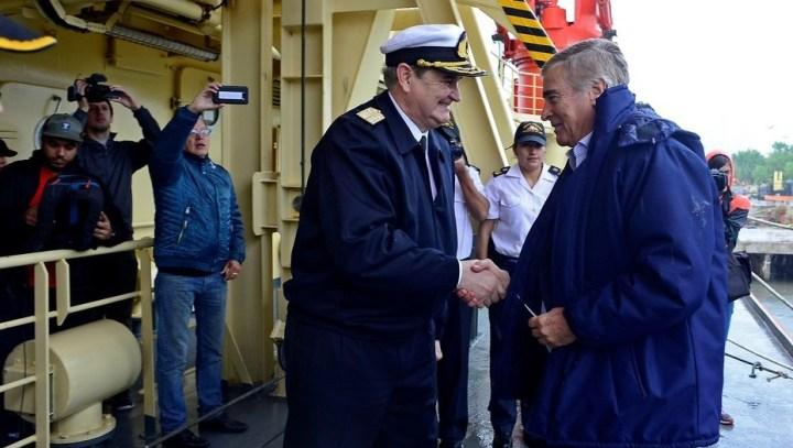 La Casa Rosada evalúa cambiar la cúpula de la Armada