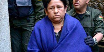 Ex ministra Achacollo cumplirá su arresto domiciliario en Montero