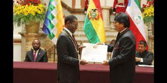 "Opositores e intelectuales piden a Evo retirar la condecoración al ""tirano"" Obiang"
