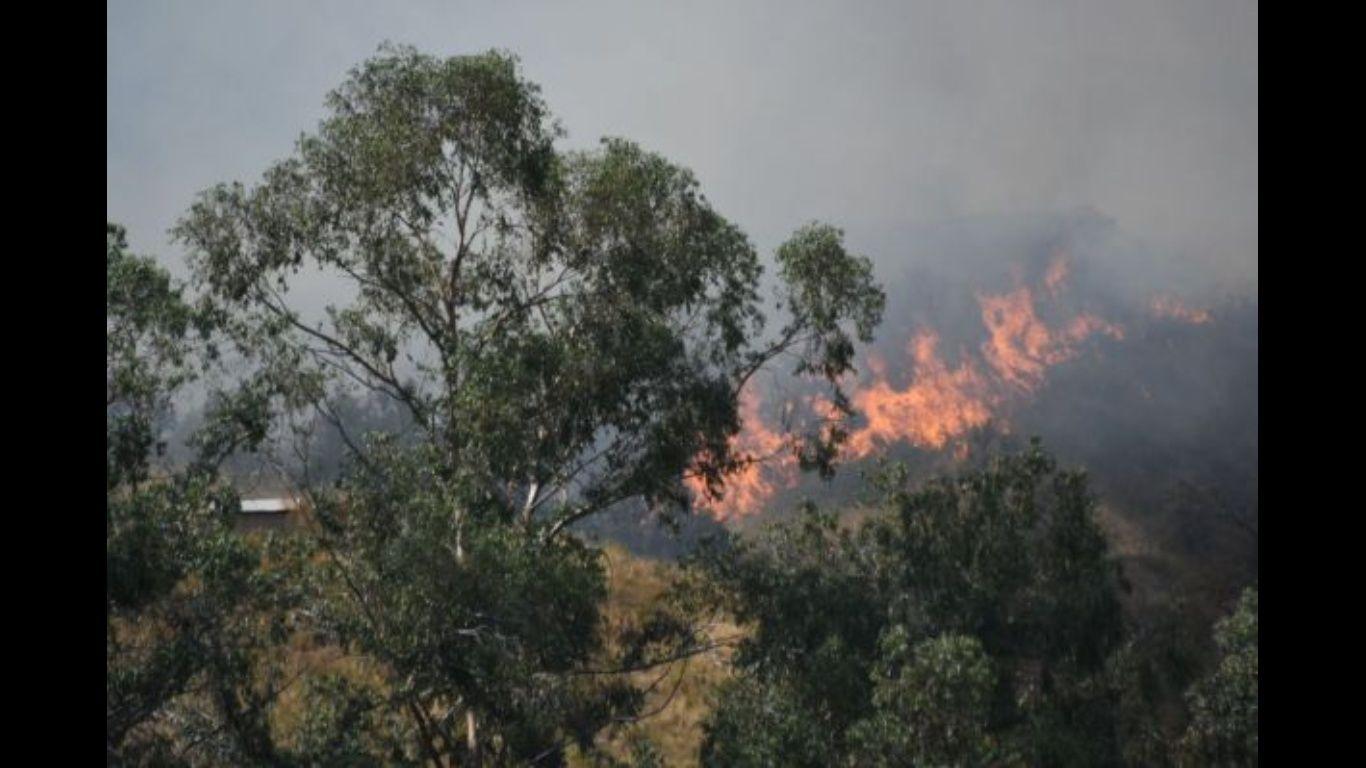 Sofocan por completo el fuego en Parque Tunari