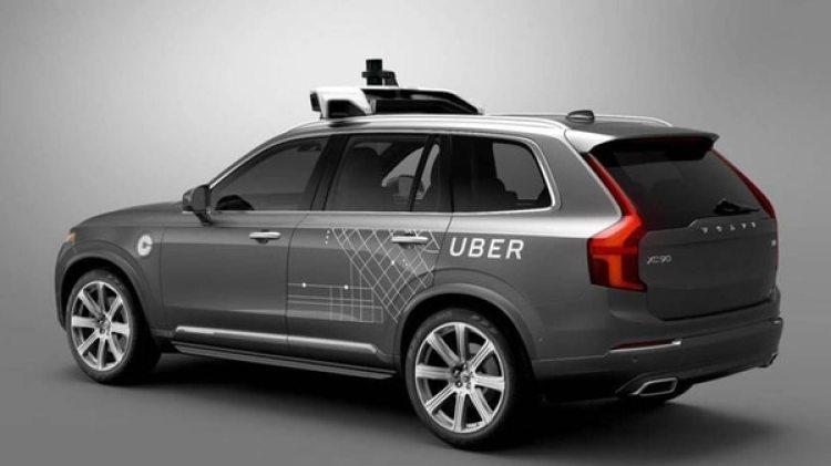 El vehículo autónomo de Uber