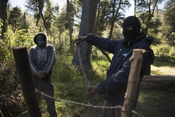 Mapuches mantienen presencia en Villa Mascardi