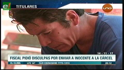 Video titulares de noticias de TV – Bolivia, noche del martes 14 de noviembre de 2017
