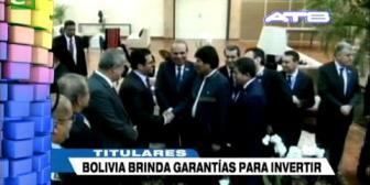 Video titulares de noticias de TV – Bolivia, noche del miércoles 22 de noviembre de 2017