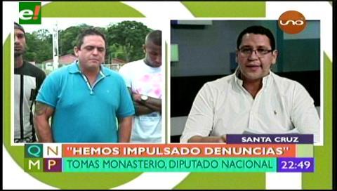 """Diputado Monasterio: """"Más que un partido, el MAS es un cartel"""""""