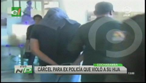 Cochabamba: Capturan a expolicía que violó por siete años a su hija