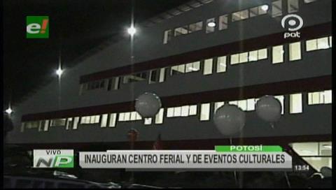 Potosí estrena moderno Centro Ferial