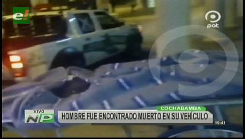 Vía Cochabamba-Oruro: Hombre fue encontrado muerto en su vehículo