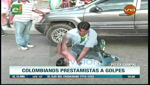 Santa Cruz: Detienen a bolivianos y colombianos tras trifulca por deuda