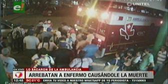Buscan a personas que raptaron a paciente de ambulancia y golpearon a paramédicos