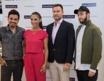 Marco Gutierrez, Desiree Durán, Juan Carlos Menacho y Daniel Ghetti