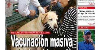 Portadas de periódicos de Bolivia del sábado 18 de noviembre de 2017