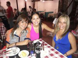 Patricia Tellez, Ma. Fernanda Aguilar y Cristina Arispe