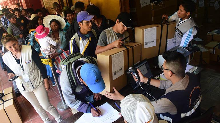 La OEA considera a las elecciones judiciales un caso 'sui generis'
