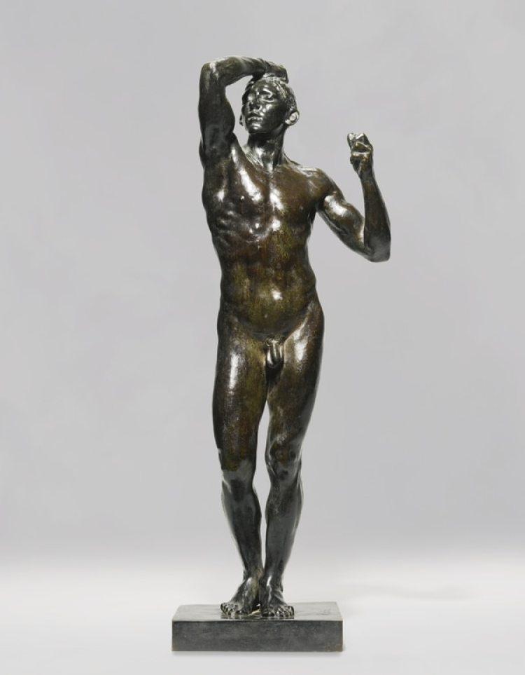 La edad de bronce, escultura de 1877