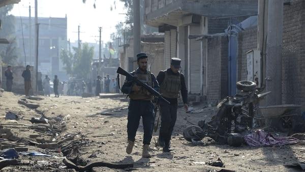 Siete muertos y trece heridos por un ataque suicida en Kabul