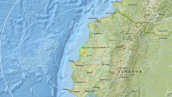 Un fuerte temblor vuelve a sacudir a Ecuador