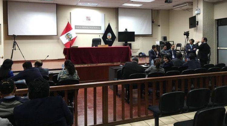La Sala Penal Nacional donde se ordenó la prisión de los socios de Odebrecht en Perú