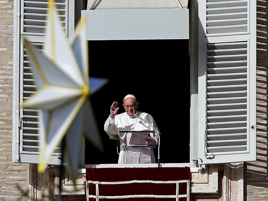 El papa Francisco, en el Vaticano