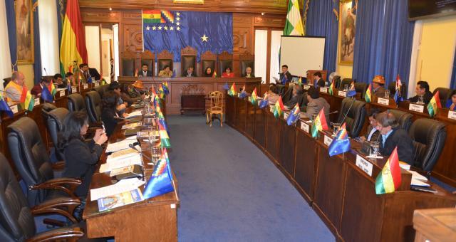 Resultado de imagen para cámara de senadores bolivia