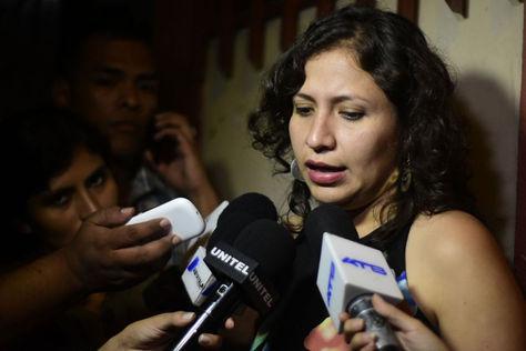 La ministra de Salud, Ariana Campero