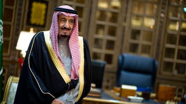 El rey de Arabia Saudita, Abdulaziz bin Salman