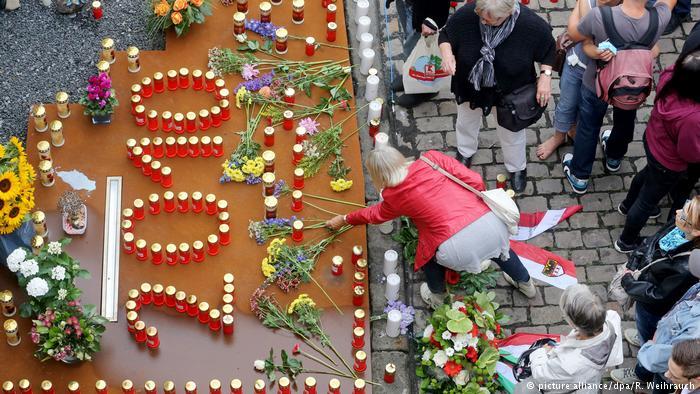 Deutschland 7. Jahrestag beim Loveparade Unglück (picture alliance/dpa/R. Weihrauch)