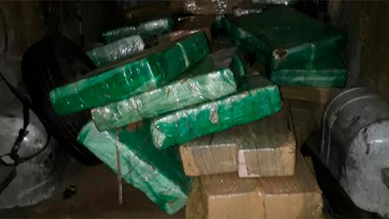 Resultado de imagen para 56 kilos de cocaína y marihuana