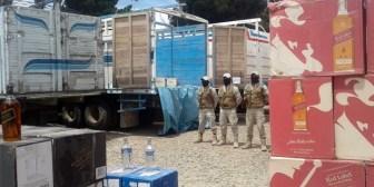 Decomisaron medio millón de bolivianos en tragos de calidad