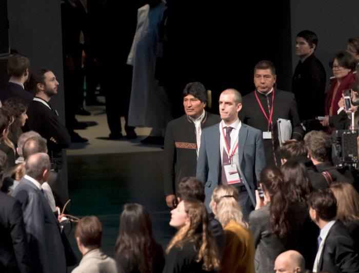 París: Evo defiende a la Madre Tierra y le recuerdan que en Bolivia anuló la intangibilidad del Tipnis
