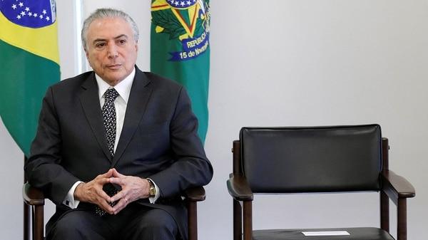 Temer fue sometido a nueva intervención urológica — Brasil