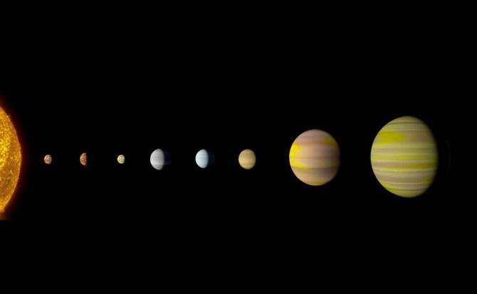 La NASA descubrió un planeta en otro sistema usando la AI de Google