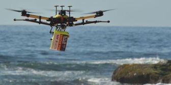 Con el auge de los drones, aumenta el riesgo de colisión con aviones