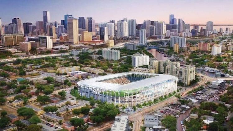 Así sería el estado de David Beckham en Miami