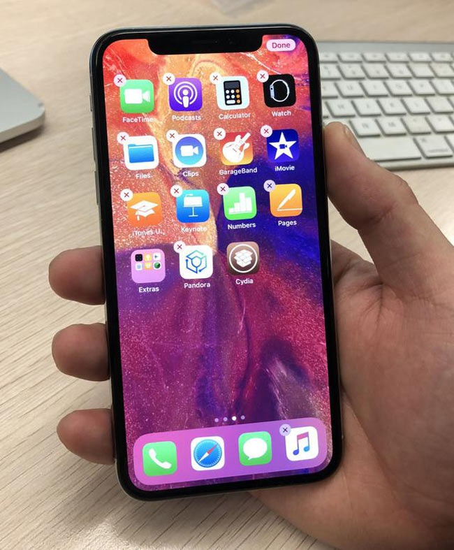 Jailbreak Untethered en un iPhone X con iOS 11.2.1