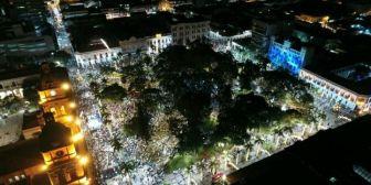 Multitudinaria marcha en Santa Cruz exige a Evo respeto al voto del 21-F