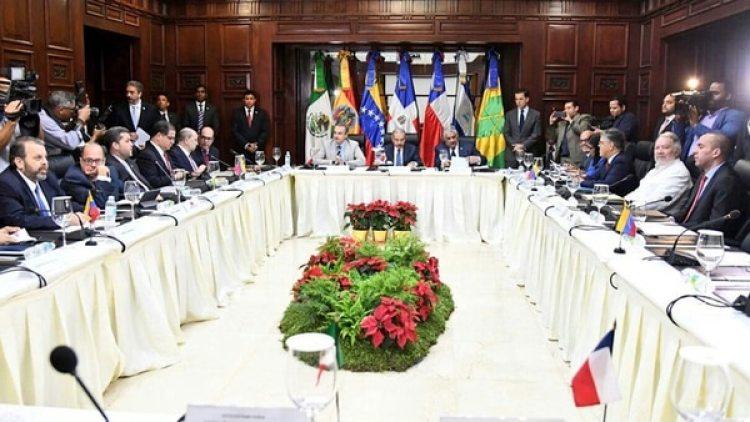 La mesa de diálogo entre el gobierno y la oposición